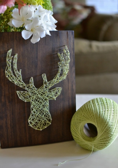 Elk-Head-String-Art-DIY