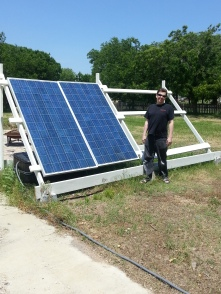 Mike and his Solar Panels
