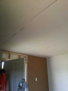 Ceiling = installed